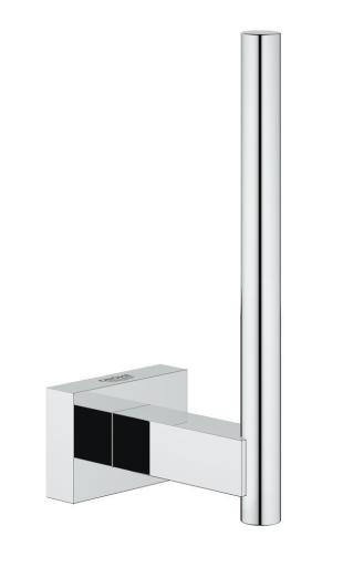 GROHE Essentials Cube Reserve Toalettpapirholder, Krom