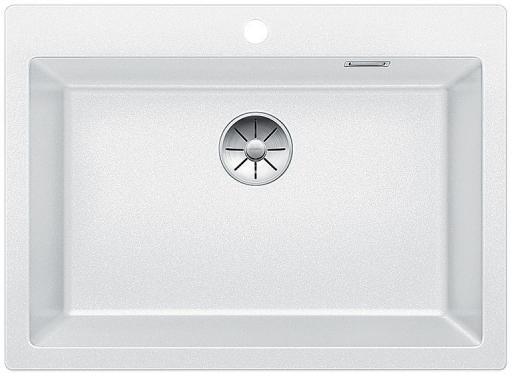 Blanco Pleon 8 UXI Kjøkkenvask 70x51 cm m/InFino Kurvventil, Silgranit Hvit
