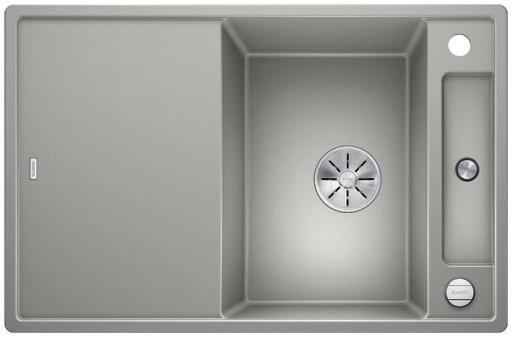 Blanco Axia 45S MXI Kjøkkenvask 78x51 m/InFino kurvventil, Silgranit Perlegrå