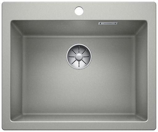 Blanco Pleon 6 UXI Kjøkkenvask 61,50x51 cm m/InFino Kurvventil, Silgranit Perlegrå