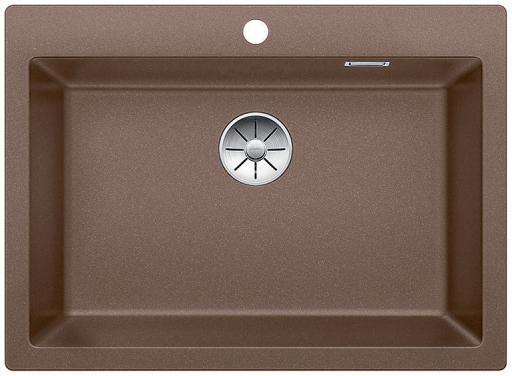 Blanco Pleon 8 UXI Kjøkkenvask 70x51 cm m/InFino Kurvventil, Silgranit Muskat