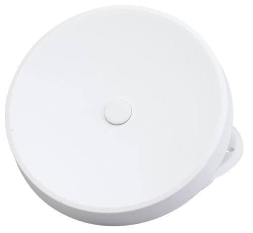 Duka Tallerkenventil - Ø 99 mm, hvit