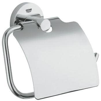 GROHE Essentials Toalettpapirholder m/Lokk, Krom