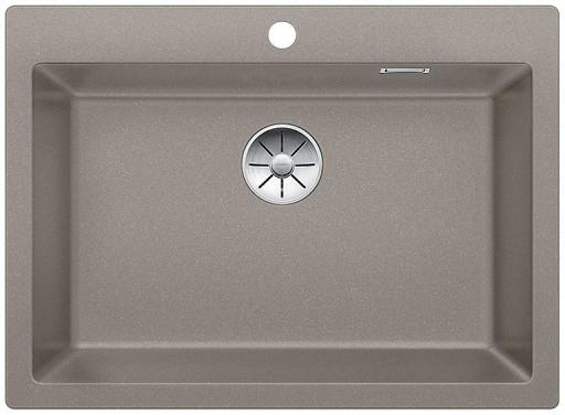 Blanco Pleon 8 UXI Kjøkkenvask 70x51 cm m/InFino Kurvventil, Silgranit Trøffel