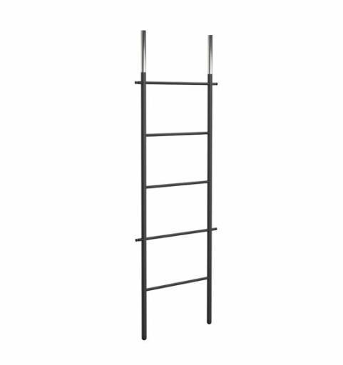 Frost Bukto Ladder Håndklestativ 58x151,5 cm, Sort/Krom