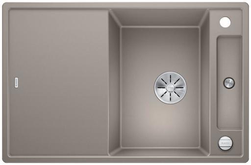 Blanco Axia 45S MXI Kjøkkenvask 78x51 m/InFino kurvventil, Silgranit Trøfel