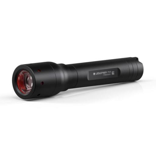 Led Lenser P5R Lommelykt, 450 Lumen, Oppladbar