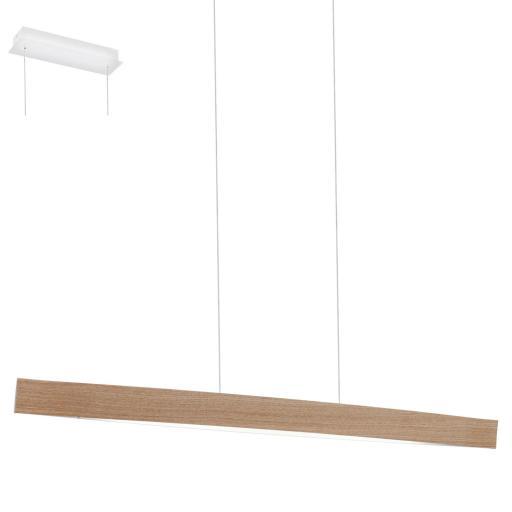 Eglo Fornes Pendel 4x6W LED, Lyst tre