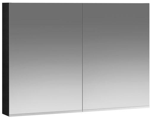 Ifø Option Speilskap 900x640mm Sort Eik