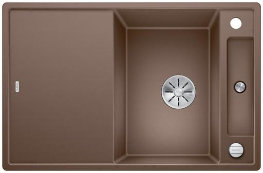 Blanco Axia 45S MXI Kjøkkenvask 78x51 m/InFino kurvventil, Silgranit Muskat