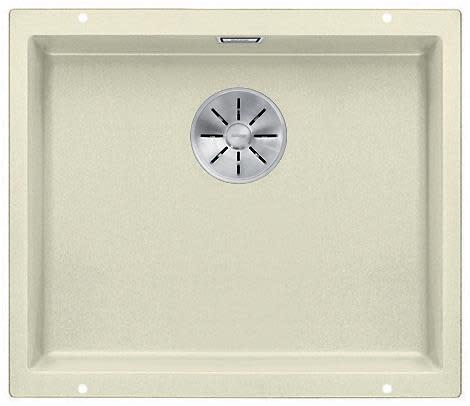 Blanco Subline 500-U UXI Kjøkkenvask 53x46 cm m/InFino kurvventil, Silgranit Jasmin