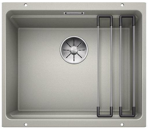 Blanco Etagon 500-U UXI Kjøkkenvask 53x46 cm/InFino kurvventil, Silgranit perlegrå