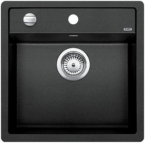 Blanco Dalago 5 MX Kjøkkenvask 51,5x51 cm m/kurvventil, Silgranit Antrasittgrå