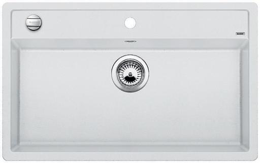 Blanco Dalago 8 MX Kjøkkenvask 81,5x51 cm, m/kurvventil, Silgranitt Hvit