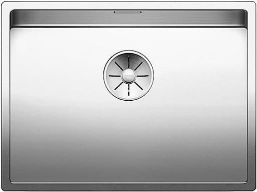 Blanco Claron 550-U UXI Kjøkkenvask 59x44 cm m/InFino kurvventil, Rustfritt Stål