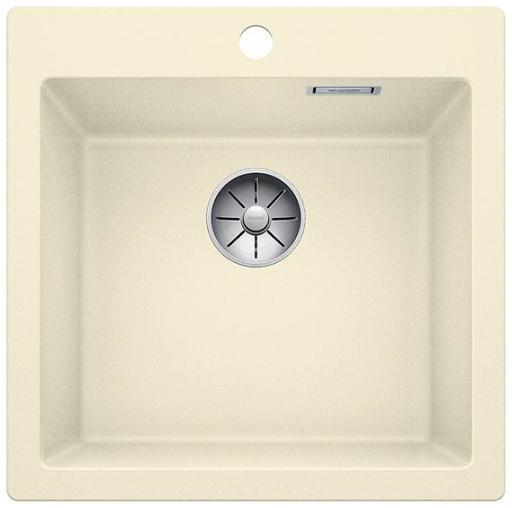 Blanco Pleon 5 UXI Kjøkkenvask 51,50x51 cm m/InFino Kurvventil, Silgranit Jasmin