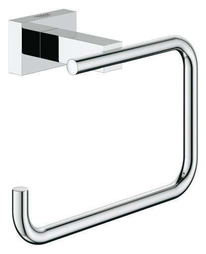 GROHE Essentials Cube Toalettpapirholder, Krom