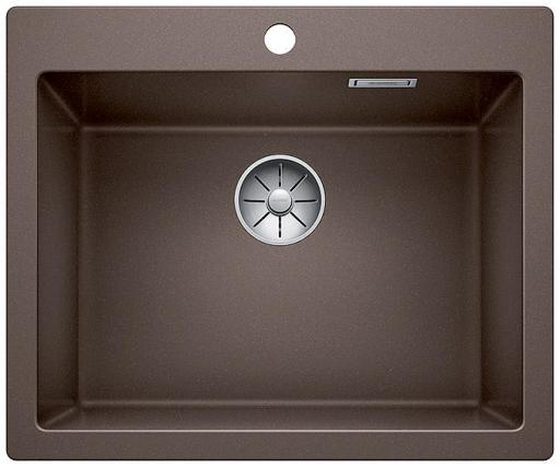 Blanco Pleon 6 UXI Kjøkkenvask 61,50x51 cm m/InFino Kurvventil, Silgranit Kaffe
