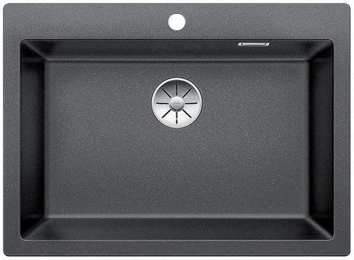 Blanco Pleon 8 UXI Kjøkkenvask 70x51 cm m/InFino Kurvventil, Silgranit Antrasittgrå