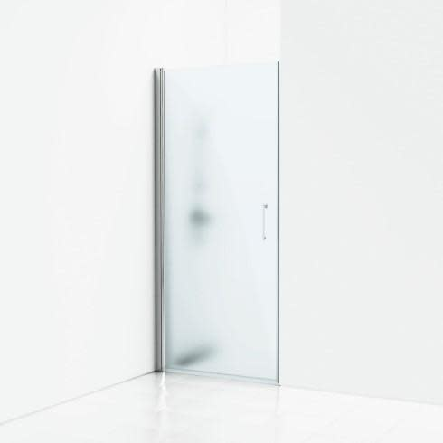 Svedbergs Forsa Enkel nisje 85 cm, Klart glass & blank alu profil