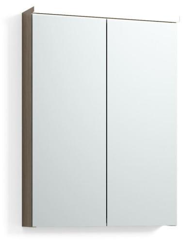 Svedbergs Skapa speilskap 50 cm, Lys eik