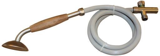 EqiWater Hånddusj med slange og omskifter for tilkobling av hånddusj