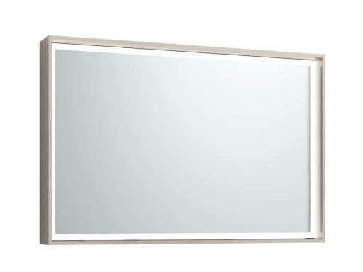 Svedbergs DK Speil med LED lys 102x68 cm, Lys eik
