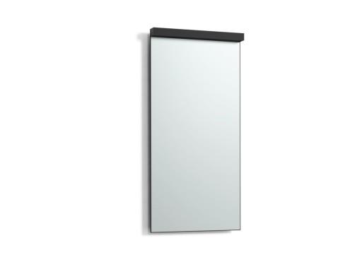 Svedbergs Imago speil med LED belysning & servantsbelysning, 40 cm, Sort