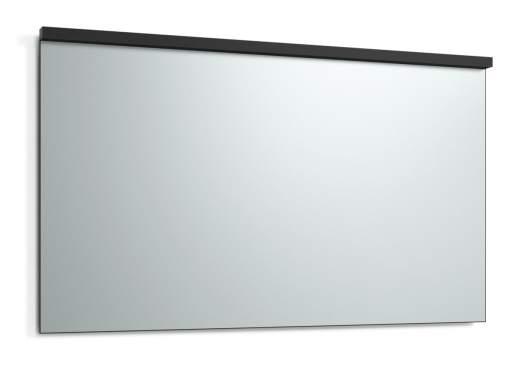 Svedbergs Imago speil med LED belysning & servantsbelysning, 140 cm, Sort