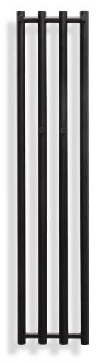 Svedbergs Sigyn håndkletørker 26x120 cm, Matt Sort