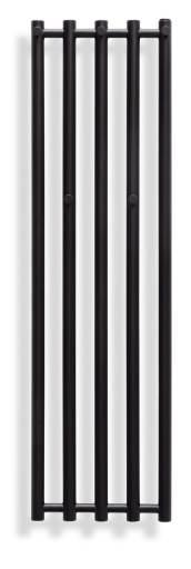 Svedbergs Sigyn håndkletørker 34x120 cm, Matt Sort