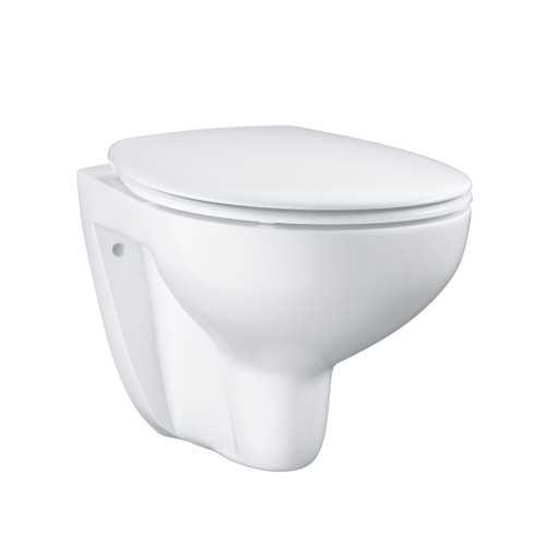 GROHE Bau vegghengt toalett m/Soft close sete - 531x368 mm
