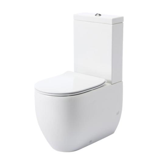 Lavabo Flo gulvstående toalett m/ECS (Rengjøringsvennlig overflate) - 600x360 mm