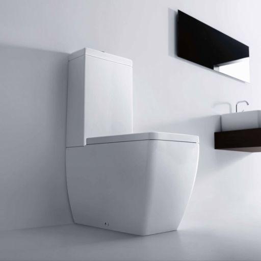 Lavabo Ego gulvstående Toalett m/S-lås & ECS - 600x360 mm