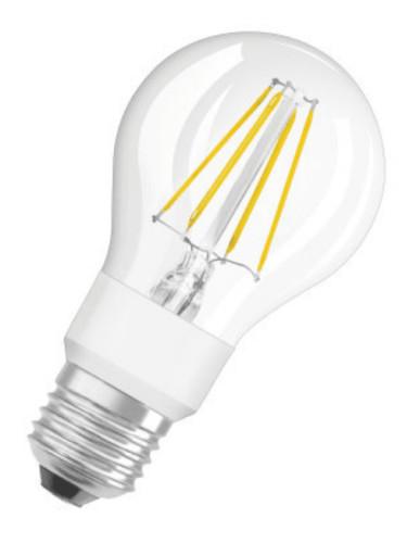 Osram Parathom+ Standard GLOWdim LED 4,5W/827 (40W) E27 Klar Kan dempes