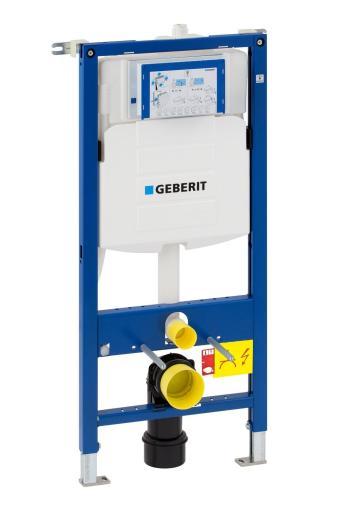 Geberit Duofix Sigma Innbyggingssisterne Frontbetjent Høyde 112 cm Inkl. Toppbeslag