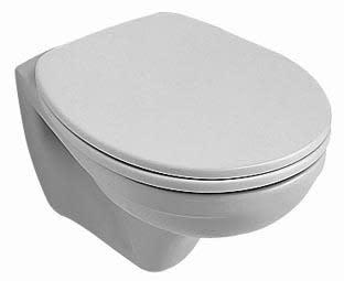 Köp V&B Omnia Compact vägghängd toalett med Ceramic Plus