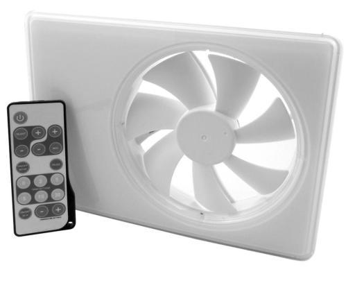 Köp Duka Smartfan m/Fuktstyrning+timer 152x206 mm Ø100/125 mm, Vit