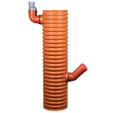 Køb Wavin PVC tagnedløbsbrønd med vandlås og fast top 315 mm 192925306