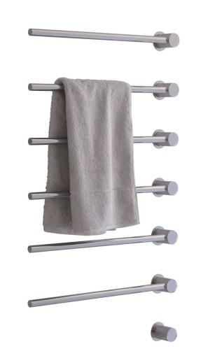 Köp Vola moduluppbyggd handdukstork till inbyggnad med 6 stänger krom