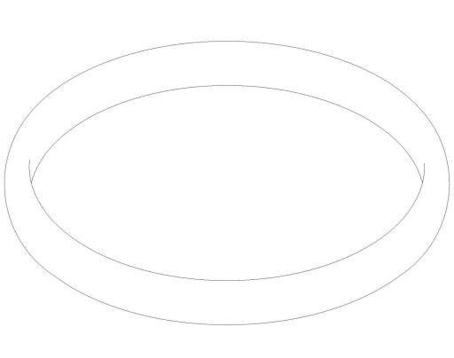 Damixa O-ring Mellom Armatur og Bordplate.