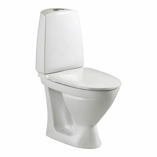 Køb Ifö Sign 6862 Toilet m/P-lås universal & Ifö Clean, Skruemontering - 650x355 mm 601030200