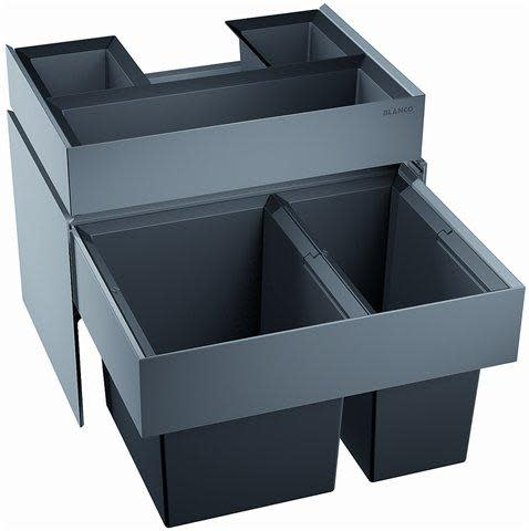 Köp Blanco Select 60/2 Orga 2 Hinkar + Låda - Montering på Skåpslucka