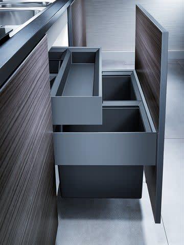 k b blanco select 60 2 orga affaldssystem bc 518725. Black Bedroom Furniture Sets. Home Design Ideas