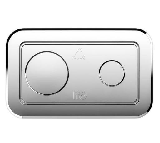 Köp Ifö spolknapp till golvstående Spira toalett - Krom