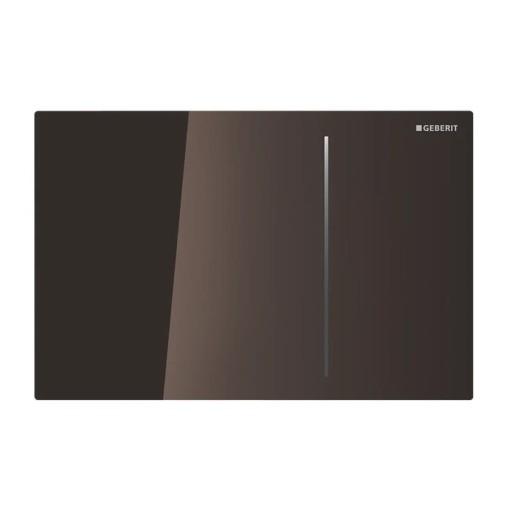 Geberit Betjeningsplate Sigma 70, Umbra Glass