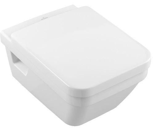 Köp Villeroy & Boch Architectura vägghängd toalett m/Direct Flush & Ceramicplus inkl. toalettsits med softclose och quick release