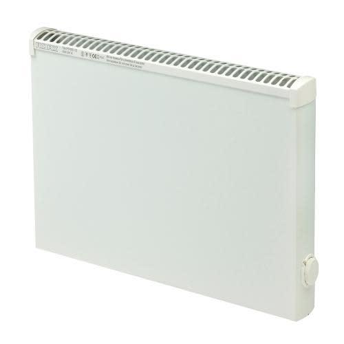 Adax Panelovn til våtrom 32,5x85 cm hvit - ca 15 m²