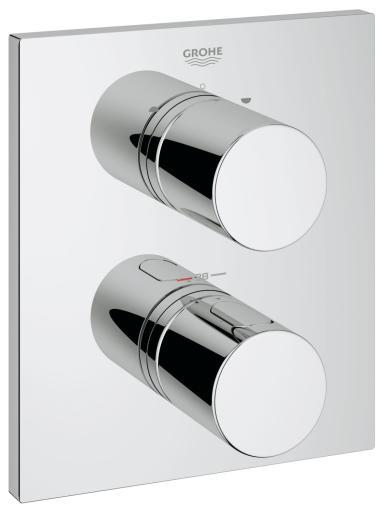 Köp GROHE Grohterm 3000 Cosmopolitan termostat med integrerad 2-vägs omkastare till bad & dusch med mer än en utgång