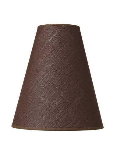 Köp Trafik Carolin lampskärm, Brun